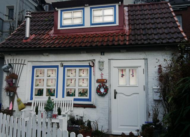 Es weihnachtet bei Oma Holland im Treppenviertel