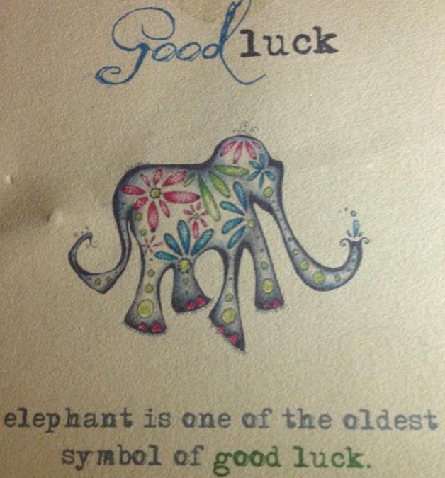 De olifant als brenger van geluk