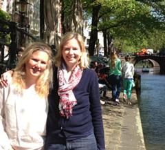 Tata&Squack op werkbezoek in Amsterdam