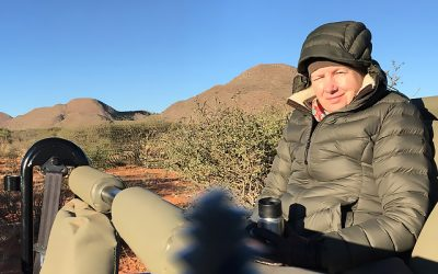 A cold Kalahari winter